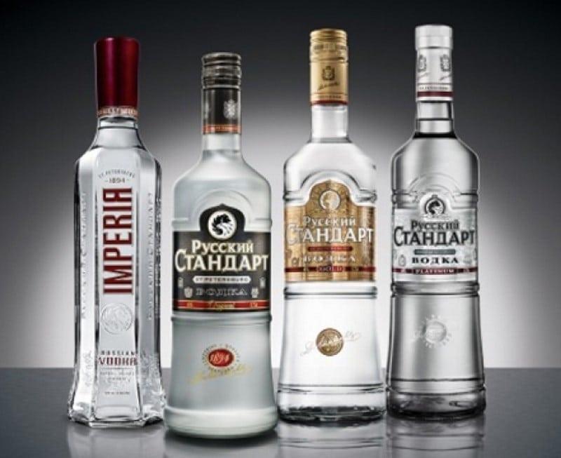 какой спирт используется в водке