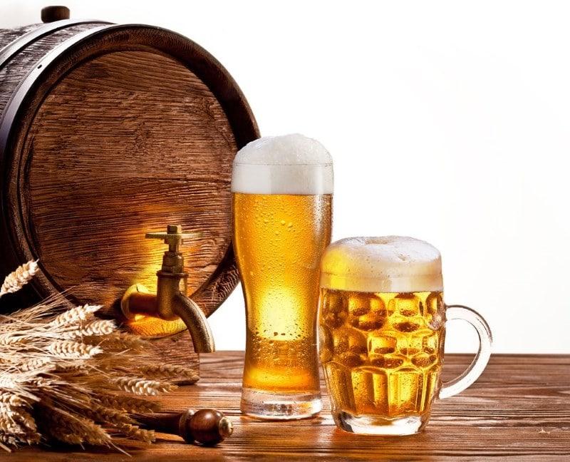 сколько весит литр пива