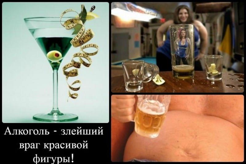 от алкоголя худеют или толстеют
