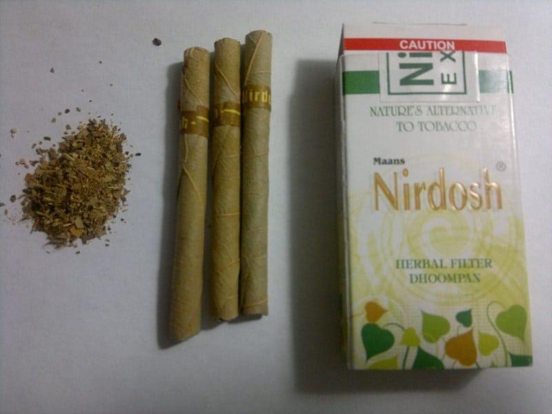 безникотиновые травяные сигареты