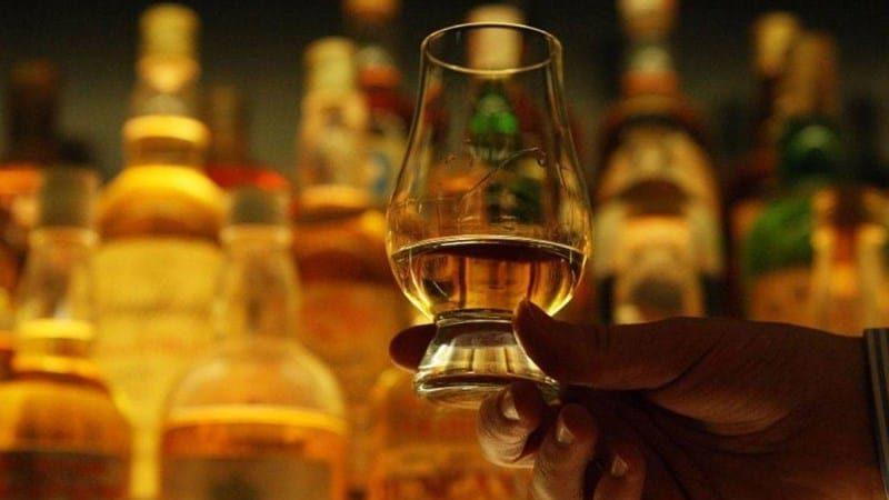 калорийность виски в 100 г