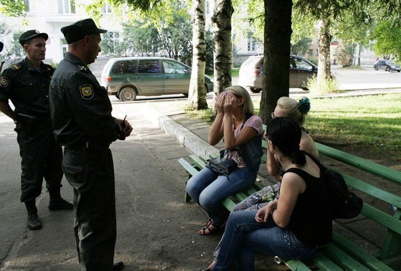 нахождение в состоянии алкогольного опьянения в общественном месте