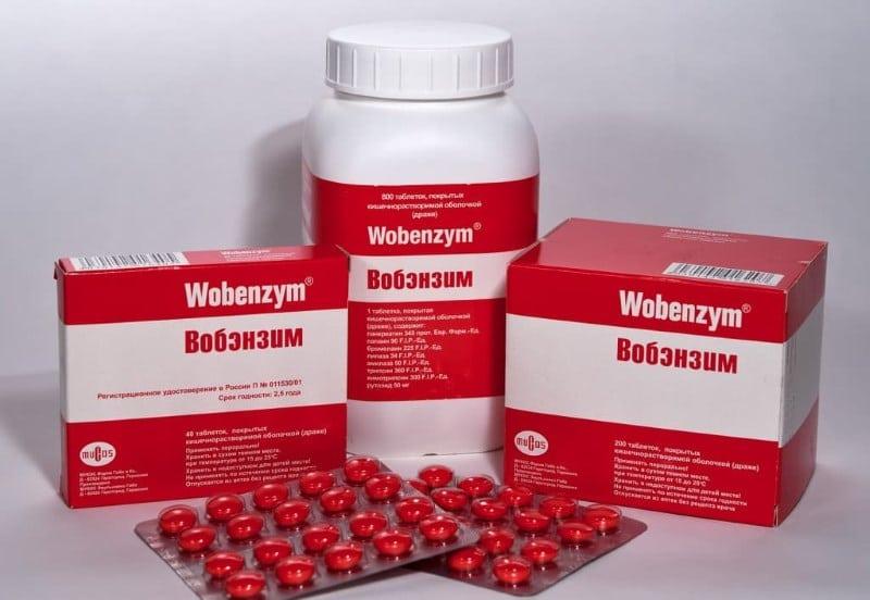 Вобэнзим и алкоголь совместимость