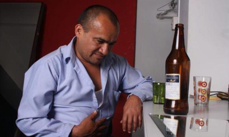 можно ли пить водку при язве желудка
