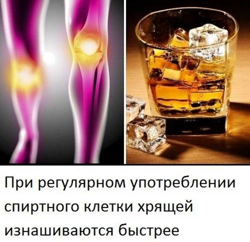 могут ли болеть суставы после алкоголя