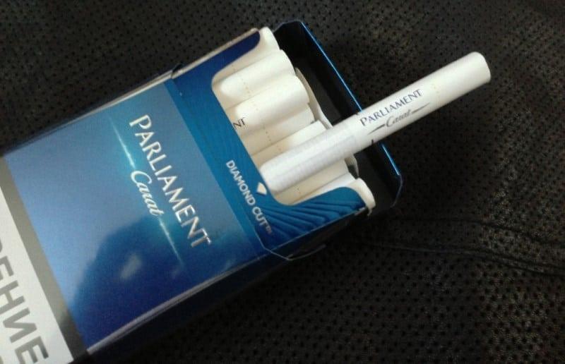 сигареты Парламент виды и описание