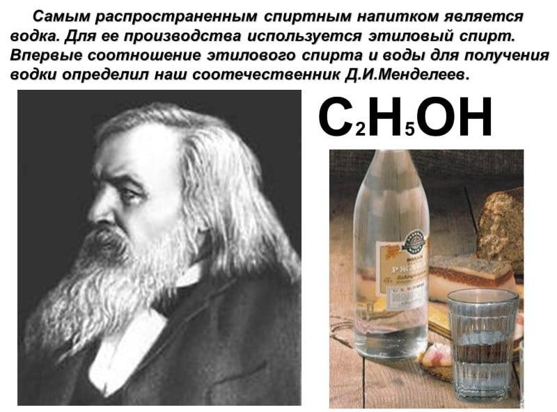 кто создал водку