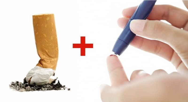 можно ли курить при сахарном диабете
