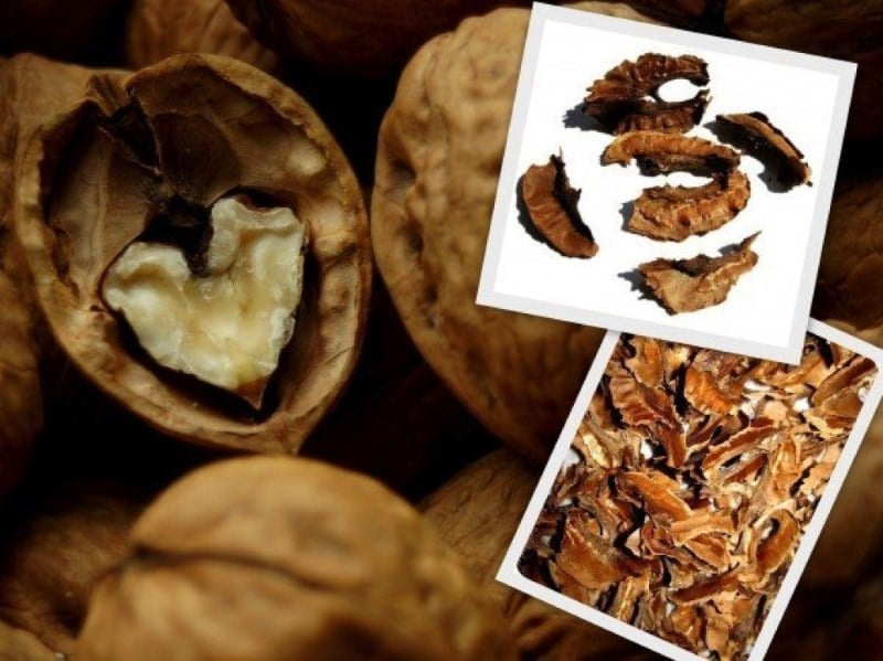 перегородки грецких орехов на водке применение от каких болезней