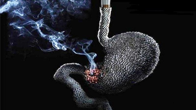 почему нельзя курить на голодный желудок