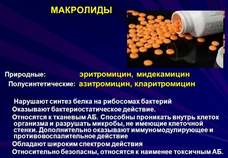 взаимодействие Кларитромицина с алкоголем