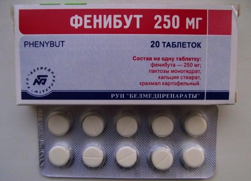 наркотик фенибут