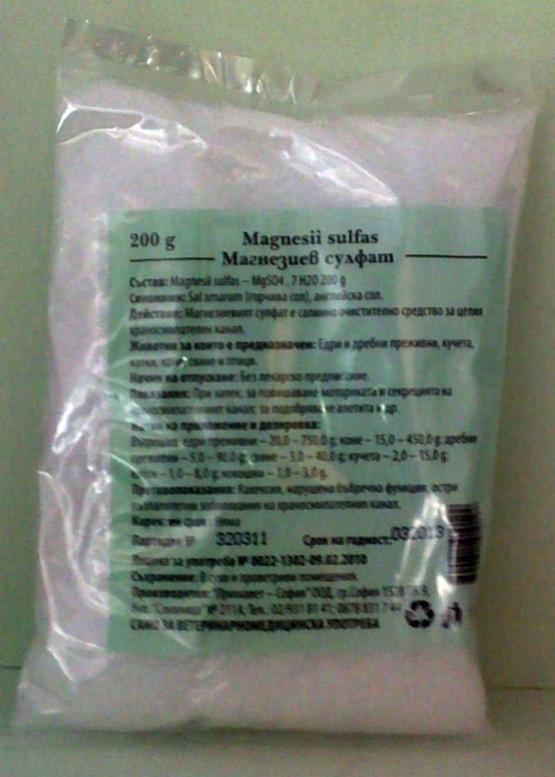 совместимость сульфата магния и алкоголя