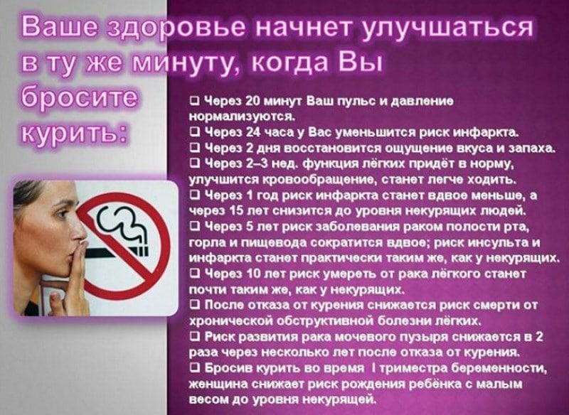 как бросить сигареты