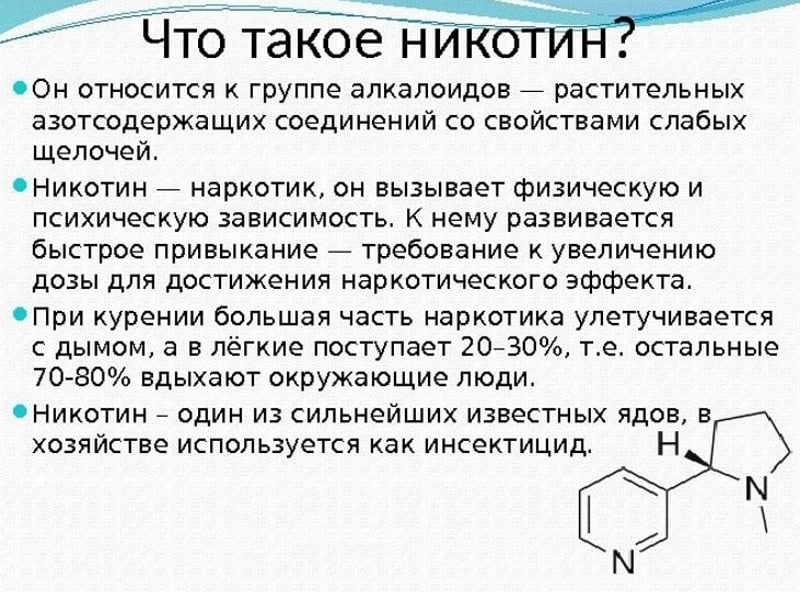 курение влияет на